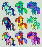 Pony Adoptables 3 (OPEN) by TheRandomPegasister