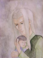 Even and baby by JenniferElluin