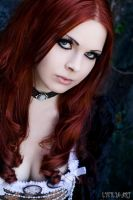 gothic portrait by Lycilia