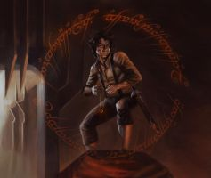 Lord of the rings detail by gustavorodrigues