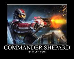 Commander Shepard Motivation by Leonar-Cousland