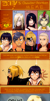 Character Obsession Meme by saurien