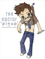 The Doctor 'pinup' by TheTenthDoctorAndI