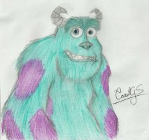 Sulley by CarolGS