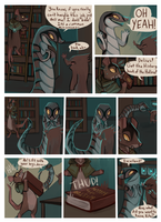 Crossed Claws ch4 intermission page7 by geckoZen