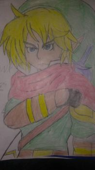 link (colored) by darkwing200218