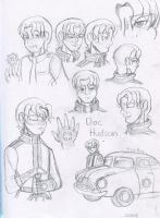 Cars: Remembered Doc Sketches by Aileen-Rose