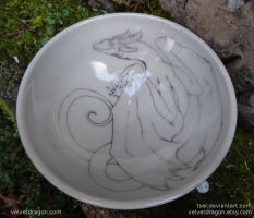 Clinging Dragon Bowl by tser