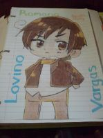Romano. by MuseLover99