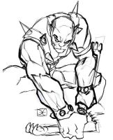 Panthro sketch by el-grimlock