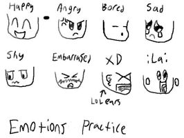 Emotions practice by Planet-i-Studios