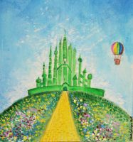 The wizard of Oz by FiabeSCa