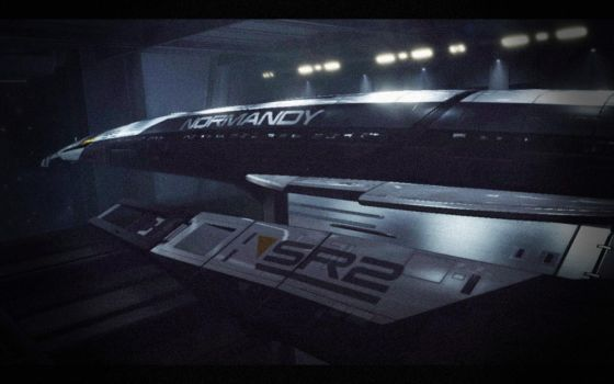 Mass Effect 2 - Normandy SR2 by trance4life