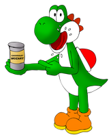 Yoshi cassoulet by ZeFrenchM