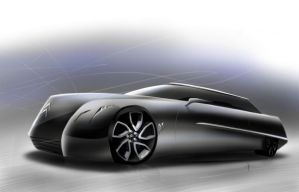 Citroen DS concept by keegancheok
