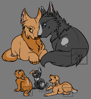 Wolf Family Adopt: CLOSED by PocketTheDevilFriend