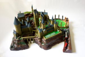 Hogwarts Castle by PhilMagorian