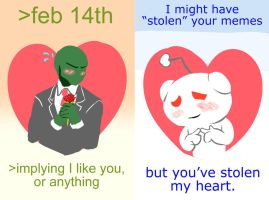4chan and reddit valentines by Triple-Q