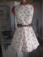 Floral 50's dress by Misguided-Ghost1612