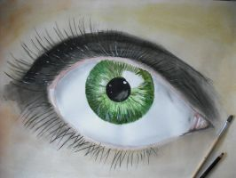 Traditional Green Eye by Gemneroth