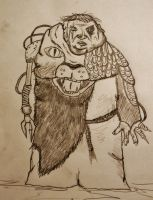 Brother Ursus, the mad friar!!! by KINGOOB