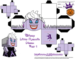 Ursula Cubeecraft Part 1 SKGaleana by SKGaleana