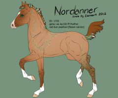 Nordanner foal 1725 design by Ikiuni