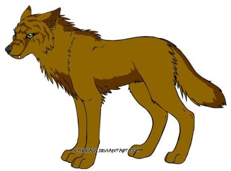 My Wolf Form by Skylen2012