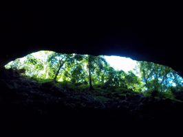 Kauai LiFe 5 Blue Room Cave by abstractjet