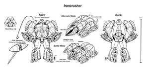 Ironcrusher Character Sheet by Laserbot