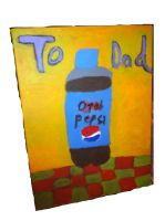 Dad's 52nd B-Day Diet Pepsi Bottle Pic Gift by ISS51
