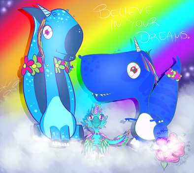 Believe in Your Dreams by Miranthia