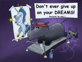 Dont Give up on YOUR Dreams by EmoHoodieDude