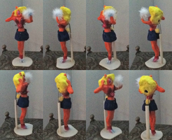 Hollow  Zembillas Tawna Bandicoot Clay Model by SmittenKitten93