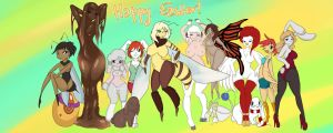 Happy Easter - Easter 2015 - 14 TF Sequences by Luxianne