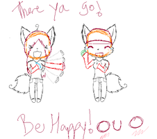 Be Happy PREVIEW by howlowl