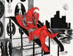 Nain Rouge-- Michigan cryptid by NocturnalSea