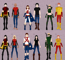 Young Justice by Wintersnow123