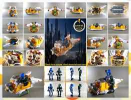 Bionicle MOC: The Ampera Helios by 3rdeye88