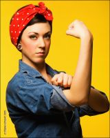 Rosie the Riveter Can Do It by EdgarPoe190