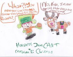 Holidays Jews CANT celebrate! #1: Christmas by A-R-T-Q-U-E-E-N7227