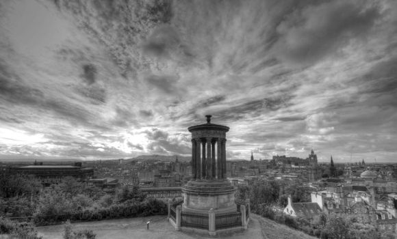 Calton hill by JWalkerimages