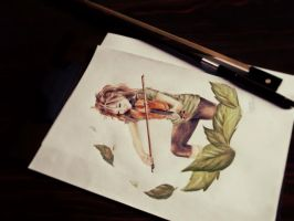 Lindsey Stirling and LS Violin by Priscila-Mizu33