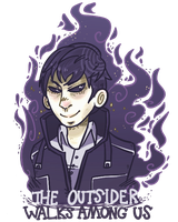the outsider walks among us by BoSimba