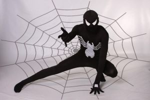 Black Spiderman by covertsniper83