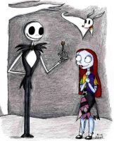 Jack and Sally as Kids by Madame-Kikue