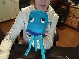 Minecraft Squid Plushie by AshfurtheGinger