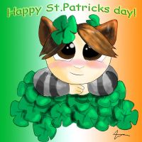 Happy St. Patrick's day by PoesRaven1990