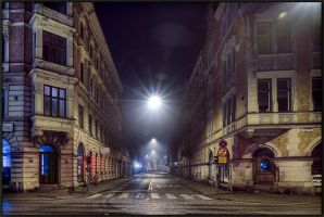 Night Streets.. by Exparte-se
