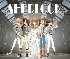 SHERLOCK SHINee Girls by Pulimcartoon